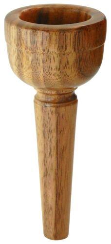 Mundstück Alphorn 28 mm Alphornmundstück Nuss Handarbeit Holz Bohrung Alpen