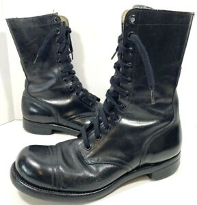 1a7c03694fc55 Details about Vintage BF Goodrich BFG War Combat Military Boots Mens Size  12 Dated 1960