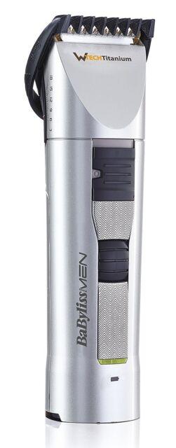 BaByliss Trimmer E781E Clipper for hair and beard technology