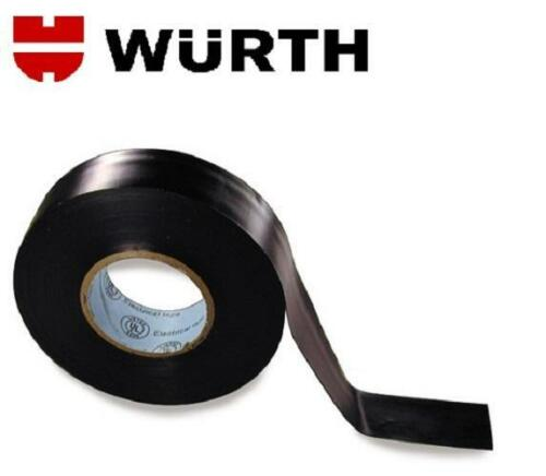 "3//4/"" X 60 ft // 20 yd Wurth High Quality PVC Electrical Tape 2 Rolls"
