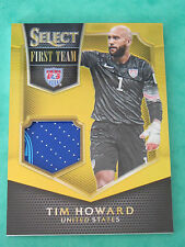 2015 Panini Select Soccer: Tim Howard TrikotJersey First Team 01/10 Prizm USA