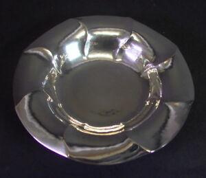 Silberschale   - 800er Silber Mond & Krone