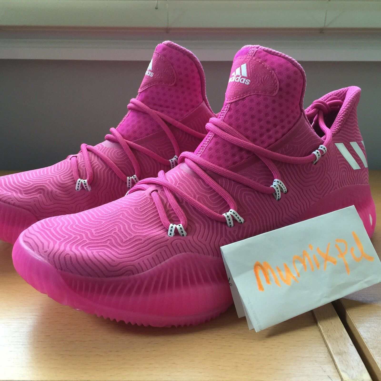 ADIDAS CRAZY EXPLOSIVE LOW byw NBA BCA sample pink pe boost BY3151 New Sz 13