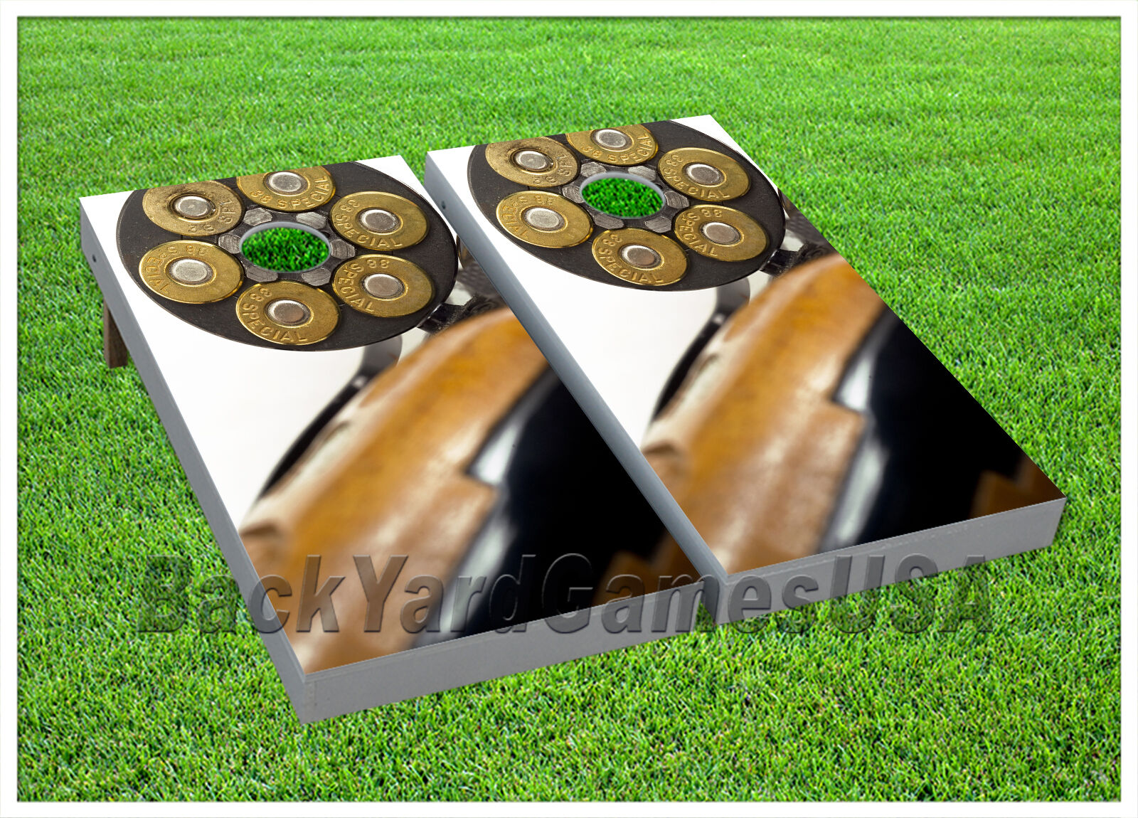 VINYL Fully Loaded Magnum CORNHOLE BEANBAG Boards 1040