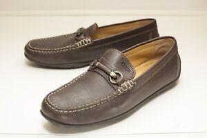 Brown Bit Loafers Men's EUR 42