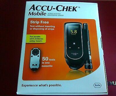 Accu Chek Mobile. BG meter + 50 tests. Exp 05/2018