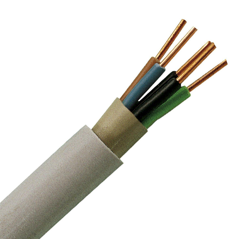 NYM-J 5 x 1,5 mm² Mantelleitung 50m-Ring InsGrößetion Elektrokabel