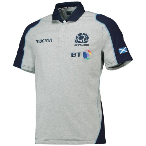 Official scotland rugby remplaçant coton Replica Jersey 2018 19 Homme Macron