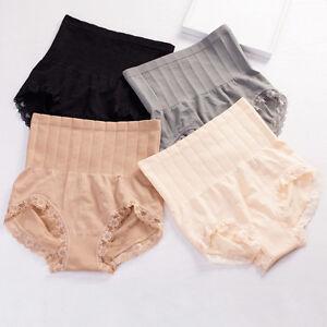 Women High Waist Tummy Shapewear Body Control Slim Shaper Panty Girdle Underwear