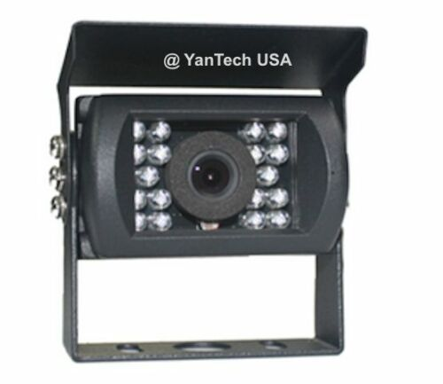 COLOR CCD Rear View Backup Video Camera 700TVL IR Night Vision with 4-Pin Cable