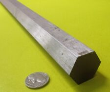 6061 Aluminum Hex Rod 1 18 1125 Hex X 6 Ft Length