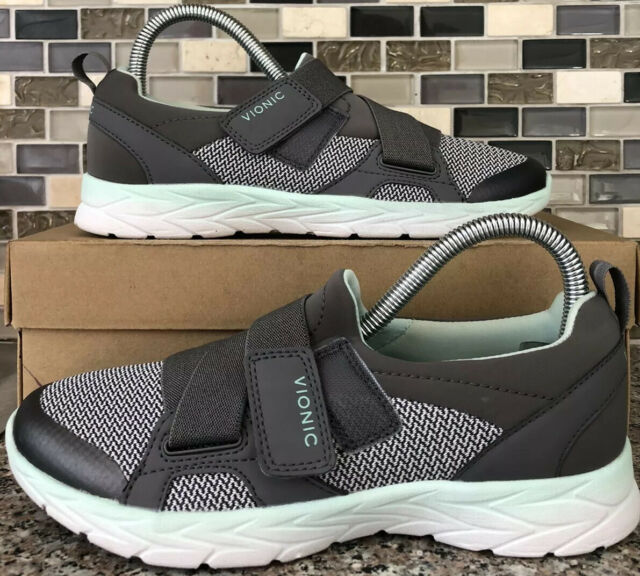 Walking SNEAKERS Shoes Gray Green Fade