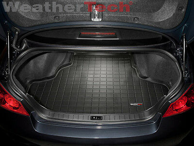 WeatherTech Cargo Liner Trunk Mat for Infiniti G35/G37 Sedan - Black