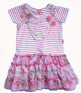 Kleid pink gestreift