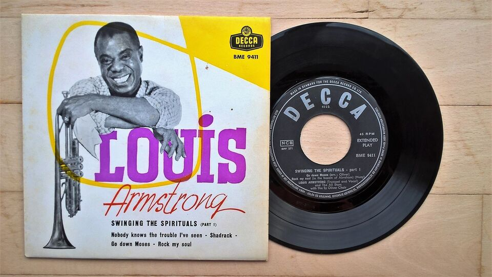 EP, Louis Armstrong, Swinging the Spirituals ( Part 1 )