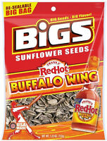 Frank's Red Hot Buffalo Wing Flavored Sunflower Seeds Spicy/hot Seasoned Seeds