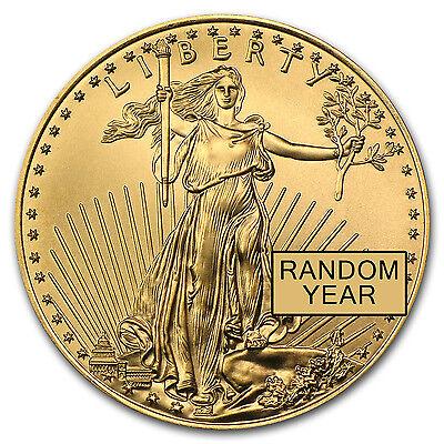 Random Year 1 oz Gold American Eagle BU - SKU #84672