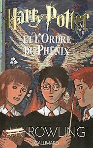 Harry-Potter-tome-5-Harry-Potter-et-l-039-Ordre-du-Phenix-d-Livre-etat-bon