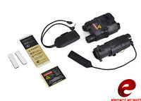 Element Peq-15 La-5 Red Laser M3x Illumination Combat Kit (black) Ex423-bk