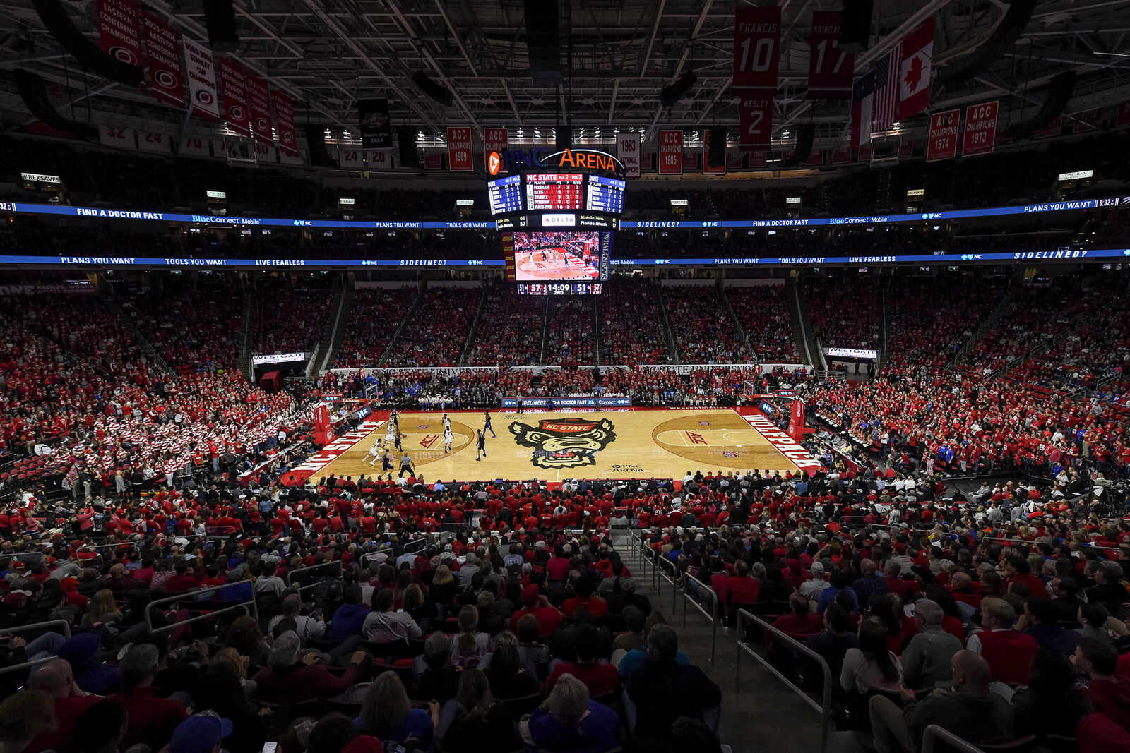 NIT Quarterfinals - Lipscomb Bisons at NC State Wolfpack Basketball