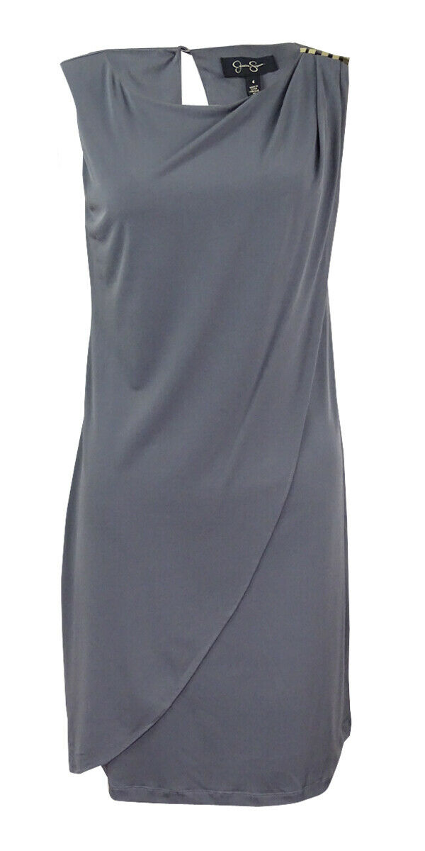 a9551bcf9c5 Women s Jersey Drape Sheath Dress Simpson Jessica neinmd1791-Dresses ...