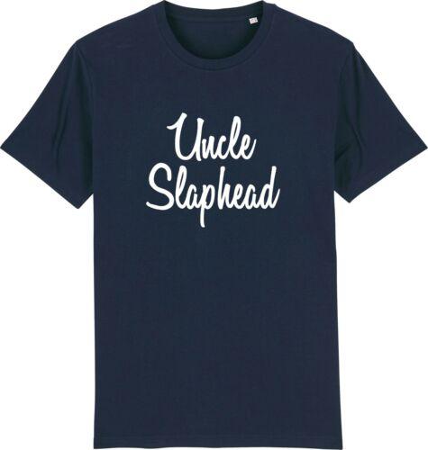 Uncle Slap Head Bald Person Funny Uncle T-Shirt