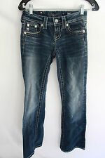 Miss Me Jeans JS5609BV Low Rise Slim Fit Stretch Bootcut Leg W24xL29.5 DK146