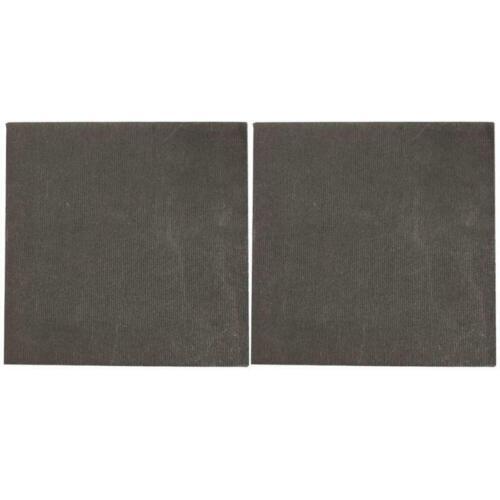 2pcs High Pure Carbon Graphite Sheet Plate Anode Panel Mould