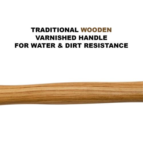 environ 453.58 g bricolage charpentier JAK 16 oz Griffe Acier Marteau Avec Solide Manche en bois Nail Remover