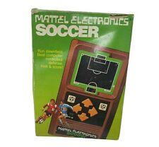 """Mattel Electronics Soccer Hand Held Video 10/"""" X 7/"""" Reproduction Metal Sign G50"""