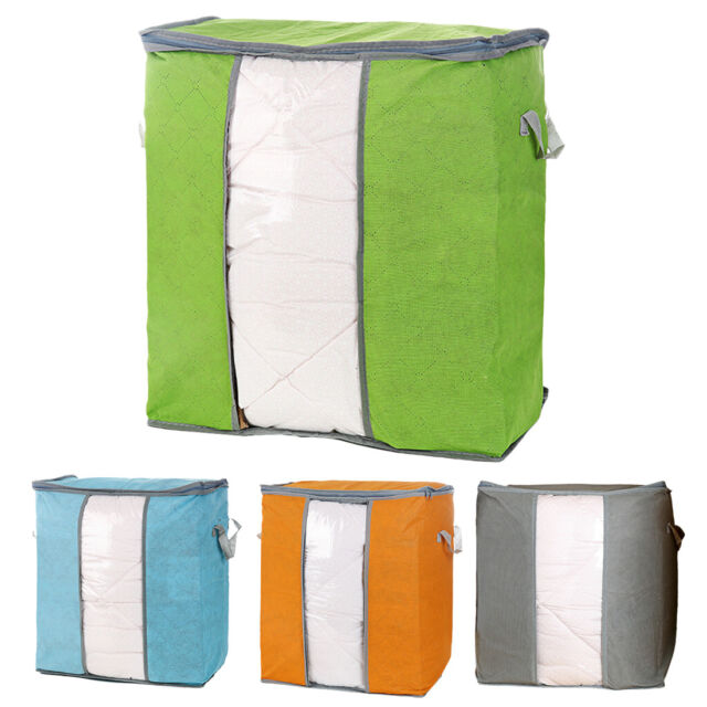 Home Storage Organizer Box Anti-bacterial Clothes Finishing Non-woven Fabric Bag