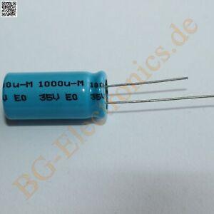 10x Elko 1000µf//16v 85 ° 10x20mm RM 5mm Philips