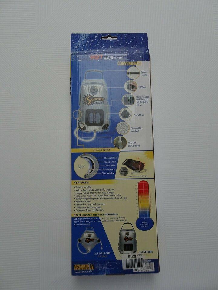 Nyt & ubrugt mobilt brusebad