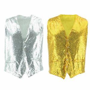 Shiny-Sequin-Waistcoat-Firefly-Blazer-Party-Dressing-up