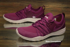 quality design c27d4 900b0 Image is loading Nike-Free-TR-7-Purple-Red-904651-603-