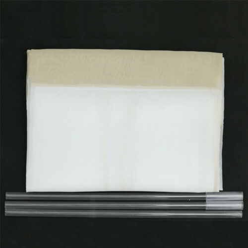 Raffrollo Voile Raffgardinen Küche Fenstergardine Wohnzimmer Modern Transparent
