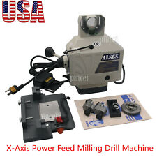 Alsgs 110v Power Feed For Vertical Milling Machine X Y Axis Alb 310sx Usa