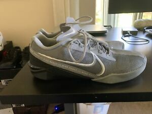 Nike React Metcon Turbo Particle Grey CT1243-002 Men's Size 11.5 Preowned