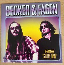 Walter Becker & Donald Fagen - Remember (Founders Of Steely Dan) CD 2003