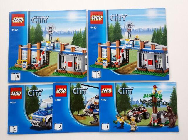 Lego City Forest Police Station 4440 Ebay