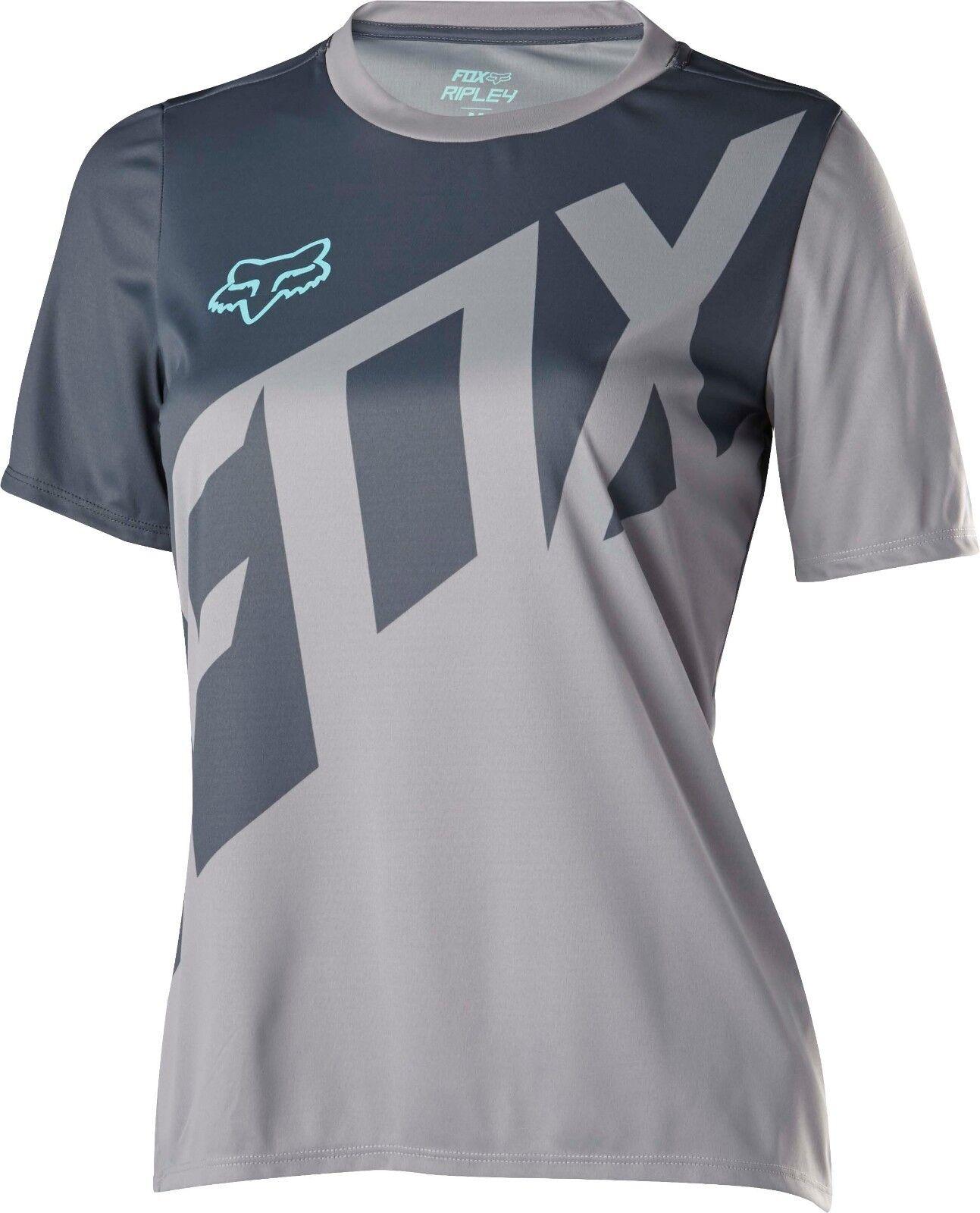 Fox  Racing Womens Ripley s s Jersey Grey  no hesitation!buy now!