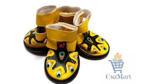 Summer Peacock Sandal Shoes For Small Dogs Chihuahua Pomeranian Pug Shih Tzu