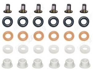 2003-10  Fuel Injector for Honda 3.0 3.2 3.5 V6 Rebuild Repair Oring Kit