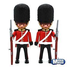 playmobil® 2 x Royal Guard | Palastwache | britische Leibwache | Bärenfellmütze