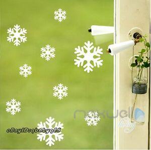 Large-Snowflakes-Christmas-Wall-Decals-Vinyl-Window-Sticker-Kids-Nursery-Decor