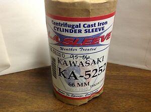 Kawasaki KDX200 1995-2006 LA Sleeve Liner KA-5252 66mm AC Cylinder Sleeve KA5252