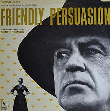"FRIENDLY PERSUASION - DIMITRI TIOMKIN 12""  LP  (Q125)"
