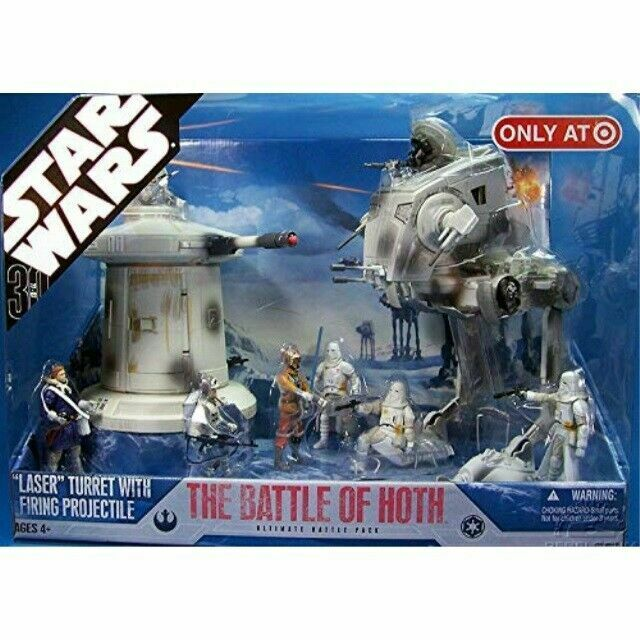 Star Wars The Battle of Hoth Ultimate Battle Pack Target Exclusive Laser Turret