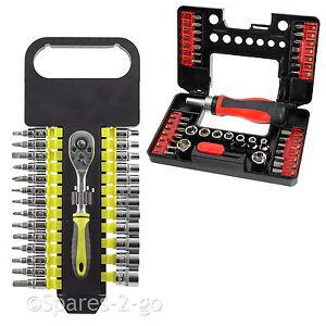 57-Piece-Socket-Bit-Set-Ratchet-Screwdriver-Wrench-Phillips-Hex-Torx-3-14mm