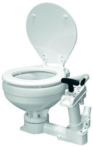 Toilette Marinetoilette Yacht Toilette See WC Porzellan Größenwahl Bootstoilette